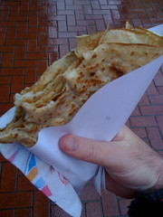 Chicken and Gruyere Crepe