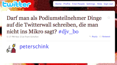 Tweet (@peterschink) #djv_bo