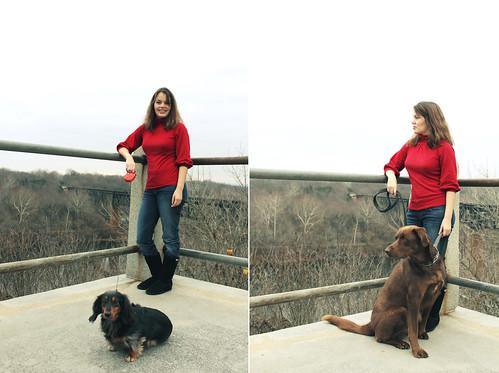 Susana & her pups
