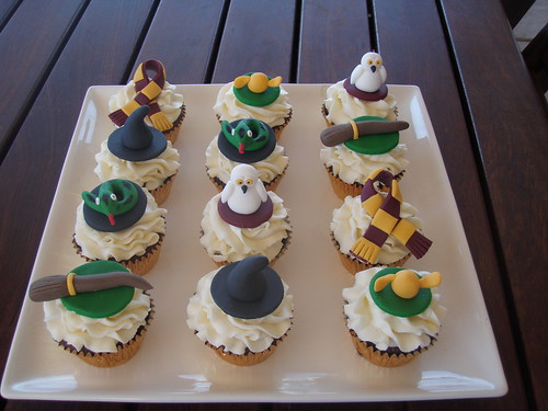 Mossy's Masterpiece - Harry potter cupcakes