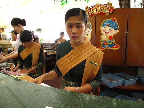 IMG_5638 Receptionist of Lee Garden Plaza Hotel , Hatyai