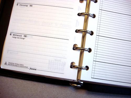 Agenda Inlay 2010