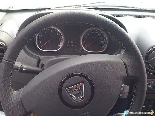 Interior Dacia Duster 1