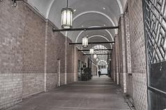 Hallway in NYC (NjCarGuy) Tags: street new york city nyc alley walk hallway midtown walkway alleyway topaz adjust