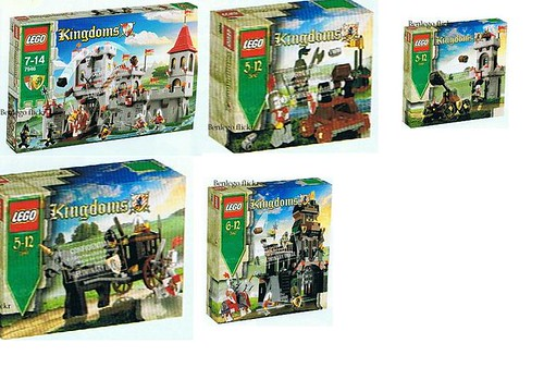 LEGO Kingdoms 2010 by The Green Giant LEGO.