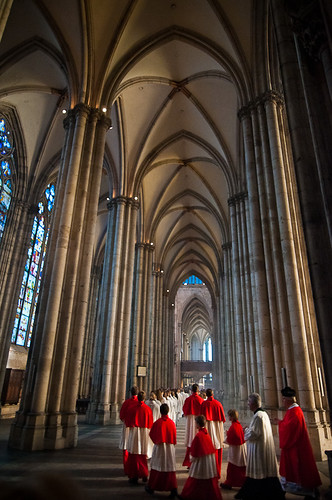 A Service in Cologne Cathedral (Kölner Dom)