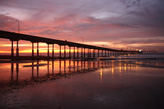 Ocean Beach Pier at Sunset (San Diego Shooter) Tags: sunset wallpaper pier sandiego desktopwallpaper beachpier sandiegosunset oceanbeachpier challengeyouwinner pieratsunset thepinnaclehof kanchenjungachallengewinner sandiegopiers tphofweek27 sandiegodesktopwallpaper f64g28r2win