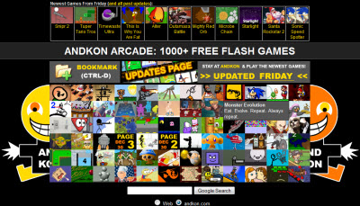 andkon 1000 free flash games raze