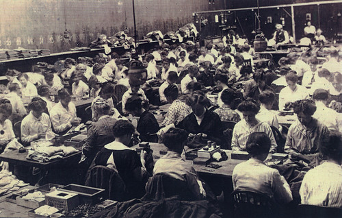 Sewing Factory, 1914-1918