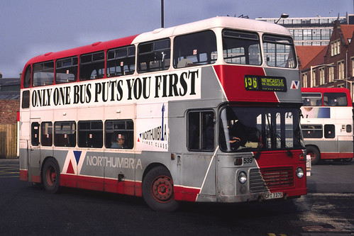 Northumbria Motor Services Bristol VRT / ECW  539 (CPT737S)