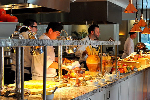 Sunday Brunch at Scarpetta - Beverly Hills