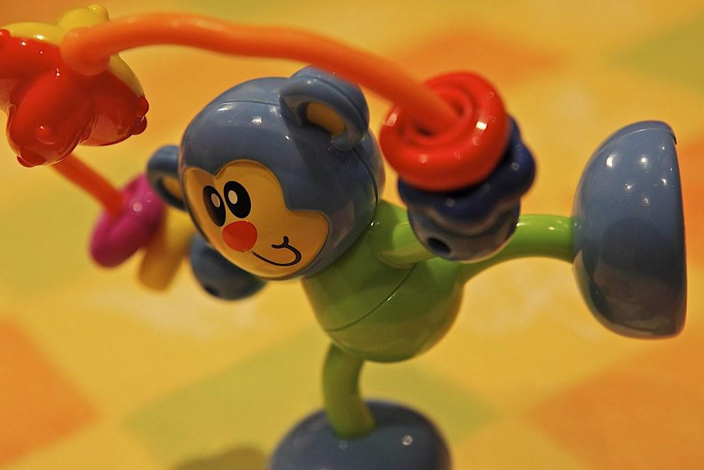 AT2457 ~ Balancing Monkey Toy