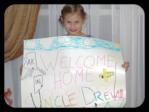 Welcome HOme Uncle Drew!