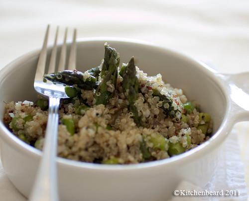 Quinoa & Asparagus Salad