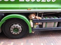 Derelict (Pedro Valadares) Tags: leiden holanda nederland netherlands caminhão truck urso bear pelúcia teddybear brinquedo toy