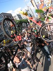 Calgary Critical Mass — June 2009