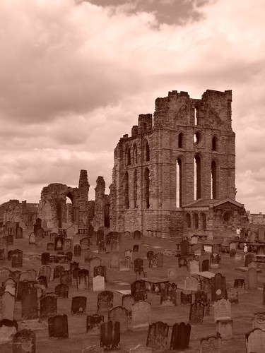 Tynemouth Priory, July 2009 by Tyneside-Rob.