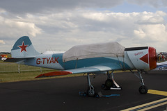 G-TYAK - Private - Bacau Yak-52 - 090704 - Waddington - Steven Gray - IMG_0136