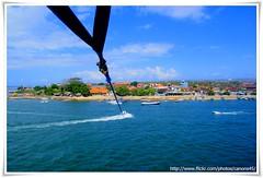 Parasailing - I'm Flying (cjlai76) Tags: bali beach indonesia asian flying sony sigma alpha parasailing kuta 18mm f35 a300