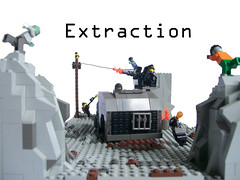 Extraction (Chas Irish) Tags: fight lego zombie diorama infection foitsop