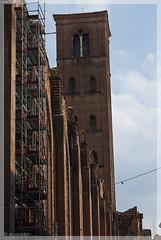 Italy July 2009 - Bologna, Basilica di San Petronio (Tarnix Bulder) Tags: italy church italia basilica bologna kerk italie emiliaromagna sanpetronio basiliek basilicadisanpetronio