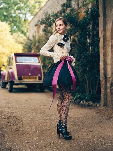 Emma Watson horrible vestido