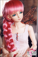 One wing Angel (LuvlessParadise) Tags: mars angel diy wire princess crystal crown bjd accessories thor sd13 onewing crobidoll