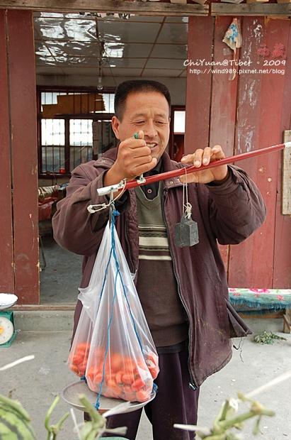 [西藏]送上的祝福。林芝路旁水果攤