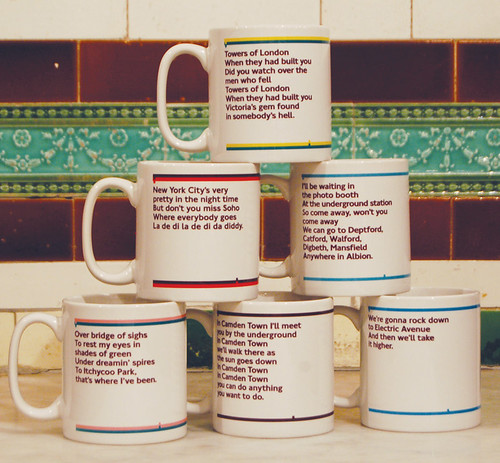 EMI Tube Line mugs