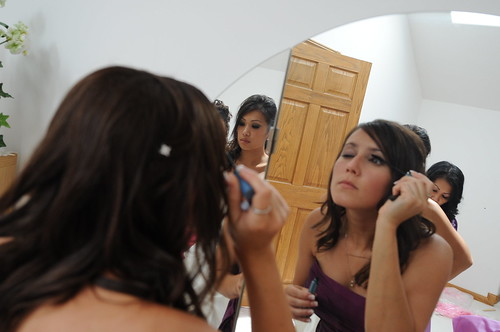 Getting ready wedding