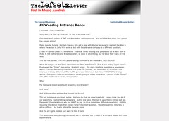 Lefsetz Letter » Blog Archive » JK Wedding Entrance Dance_1249599188576