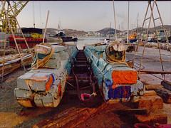 Syros, shipyard