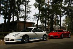 GT3RS.F430 (simons.jasper) Tags: road beautiful car racecar jasper belgium belgie sony fast ferrari special porsche circuit simons a100 digest supercars combo 430 996 spotswagens
