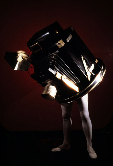 laurie simmons walking camera jimmy the camera