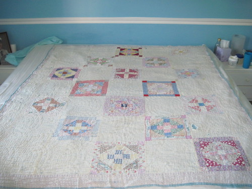 Quilt probably made by my great-grandma