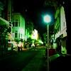 午前三時の広尾の商店街 (Hiroo Street 3 a.m.)