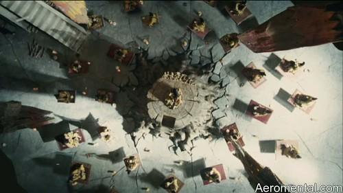 Imaginarium del Doctor Parnassus alfombras voladoras