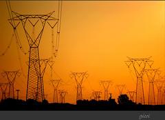Much easier... (gicol) Tags: sunset italy tower energy italia tramonto pollution electricity powerplant salento puglia progresso energia brindisi regresso elettricità tralicci enel apulia inquinamento centraleelettrica electricalcables cavielettrici cerano elettrodotto electroduct distruzionepaesaggio