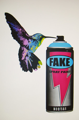 FAKE Graffiti, Urban, Street Art Canvas fake canbird / A gallery with ton of graffiti/urban/street art...