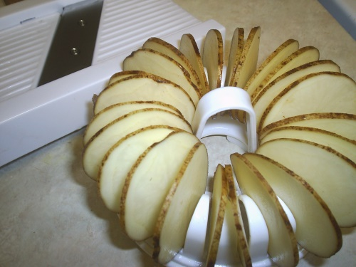 Potato Chips - sliced