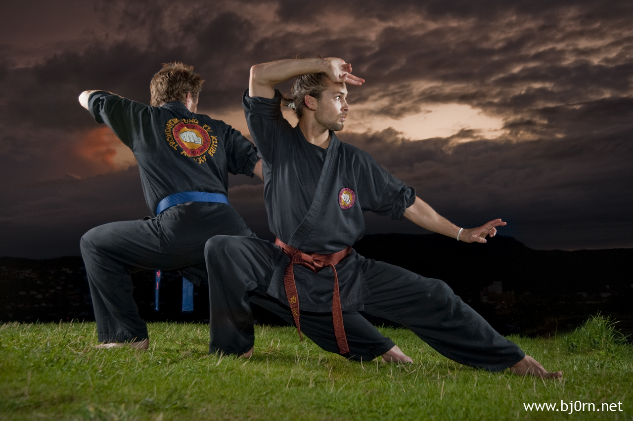 photo: Bjørn Christiansen, Kung Fu with Kristian Vintervoll and Roy Lyngstad