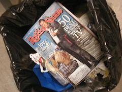 In the bathroom (u2acro) Tags: chicago rock trash ga magazine u2 concert garbage tour stadium line september cover 2009 colbert rollingstone soldierfield stephencolbert generaladmission 360tour touropener september122009 9122009 sept122009