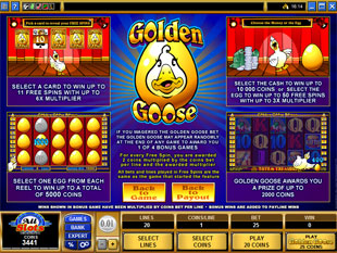 free Golden Goose Totem Treasure gamble feature