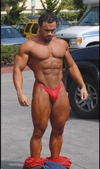 11 (bb-fetish.com) Tags: muscle posing posers trunks bodybuilder bulge