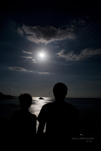 月下 ‧ 情人的背影