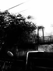 晩夏と影 ~ Late summer and Shadow (20090906_ikebukuro_16) (pqw93ct) Tags: shadow summer bw white black monochrome japan tokyo ikebukuro late 東京 ricoh 影 池袋 モノクロ 白黒 shiinamachi 晩夏 椎名町 gx200
