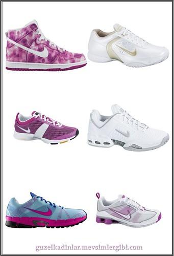 Nike Woman Bayan Spor Ayyabıları Modelleri