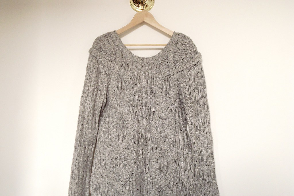 H&M trend oversized sweater