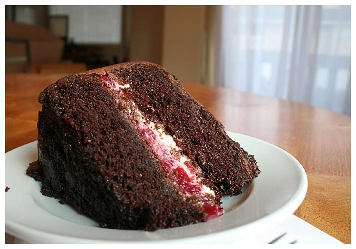 chocolate cake with double chocolate cake 1 raspberry chocolate cake ...
