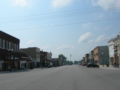 Downtown Hamburg, Iowa